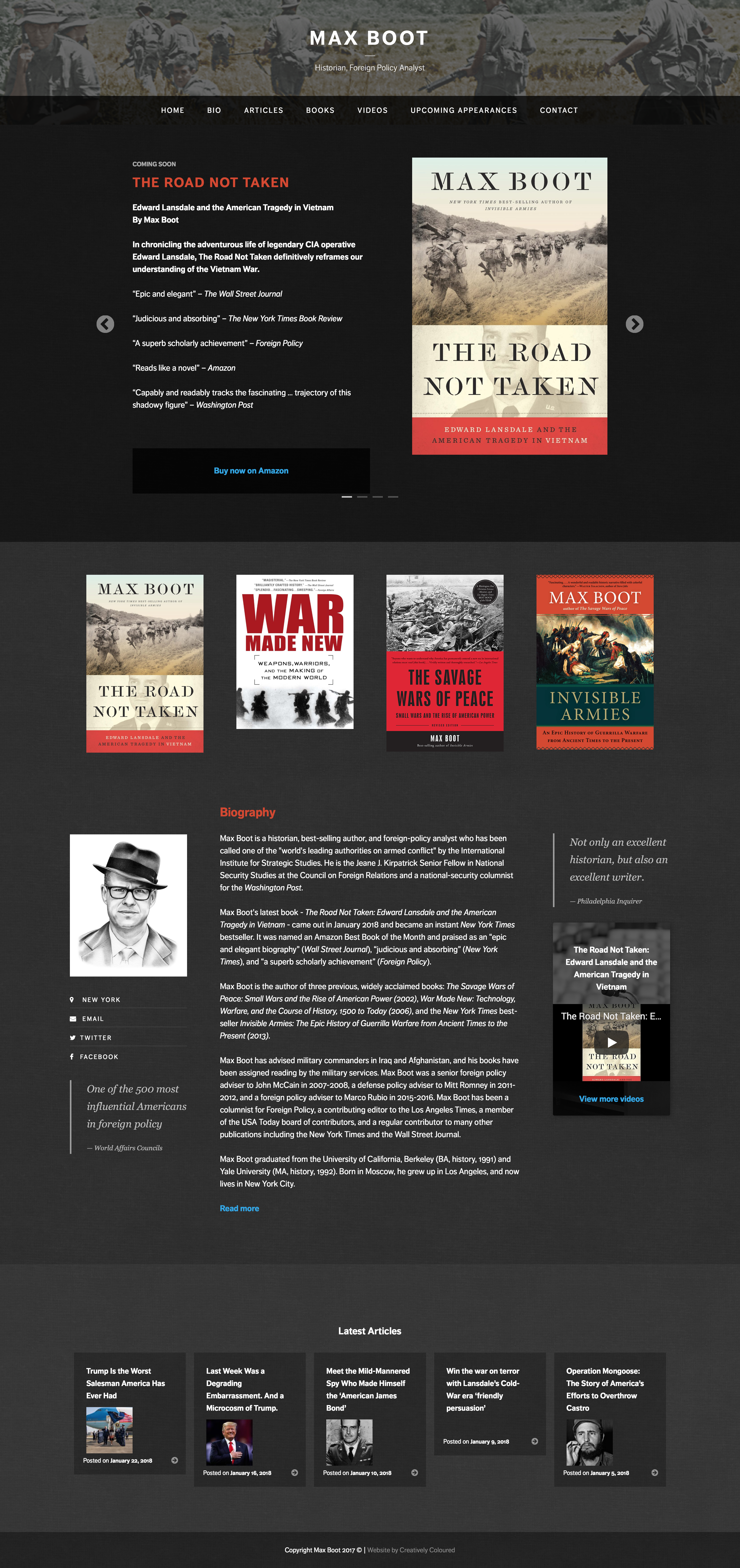 Max Boot — Creatively Coloured